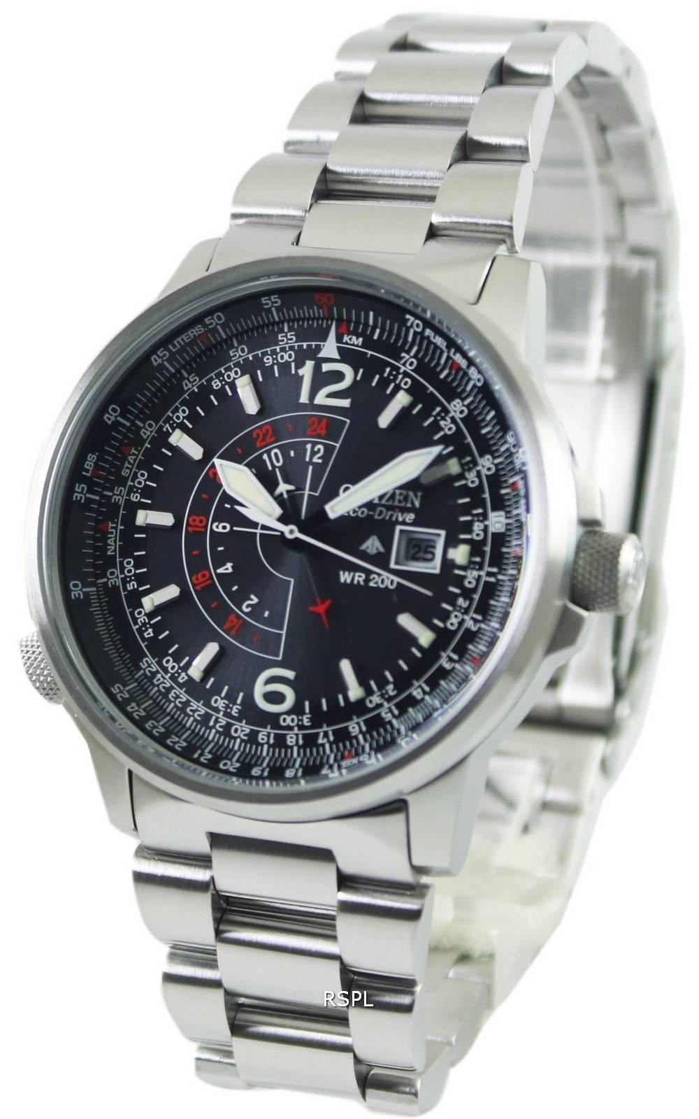 Citizen Promaster Eco Drive Nighthawk Bj7010 59ebj7000 52e