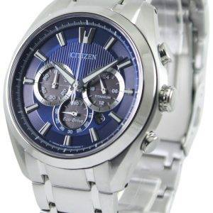 Citizen Eco-Drive Titanium Chronograph CA4010-58L Mens Watch