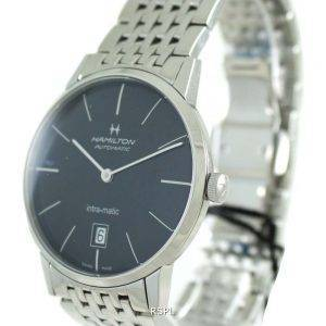 Hamilton Automatic Black Dial H38455131 Mens Watch