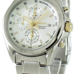 Seiko Titanium Chronograph SNDC95P1 Mens Watch