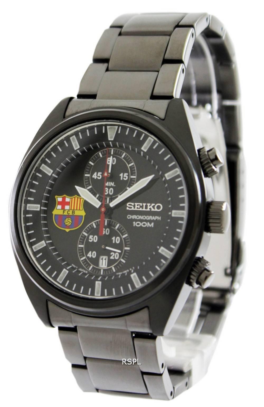 Seiko Chronograph FC Barcelona SNN267P1 SNN267P SNN267 Mens Watch -  CityWatches.co.nz 325a9bea75