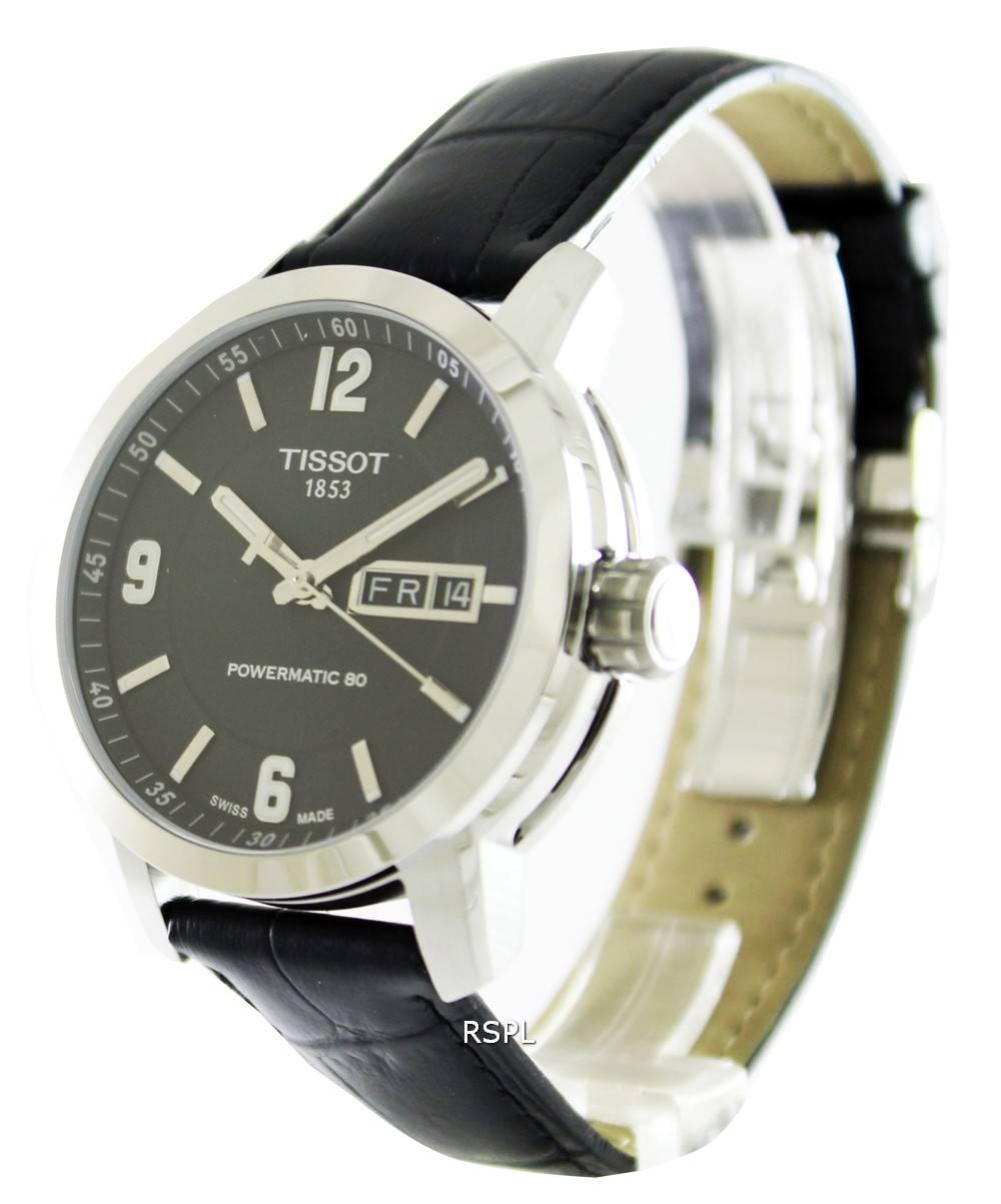 55b3f9bee06 Tissot T-Sport PRC 200 Automatic Black Dial T055.430.16.057.00 Mens Watch
