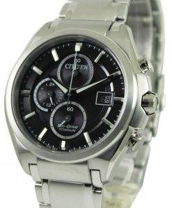 Citizen Eco Drive Super Titanium Chronograph CA0350-51E Mens Watch