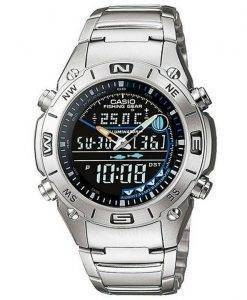 Casio Analog Digital Fishing Gear World Time AMW-703D-1AVDF AMW-703D-1AV Mens Watch