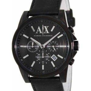 Armani Exchange Chronograph Black Dial AX2098 Mens Watch