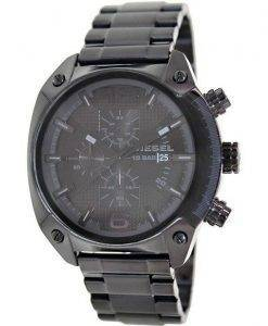 Diesel Advanced Chronograph Black Dial Ion Plated DZ4223 Mens Watch