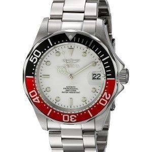 Invicta Automatic Pro Diver 200M Silver Tone Dial INV9404/9404 Mens Watch