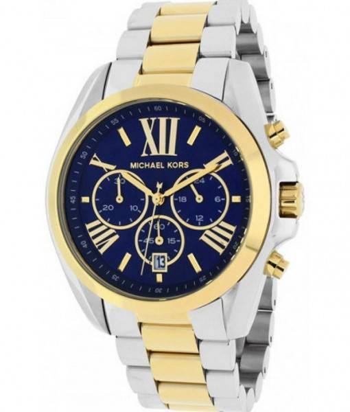 Michael Kors Bradshaw Chronograph Two-Tone MK5976 Womens Watch