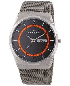 Skagen Melbye Titanium Case with Mesh Band SKW6007 Mens Watch