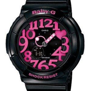 Casio Baby-G Neon Illuminator Analog-Digital BGA-130-1B Women's Watch