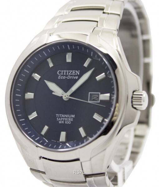 Good Watch Brands For Men >> Citizen Eco-Drive Titanium Sapphire Crystal 100M BM7170-53L Men's Watch - CityWatches.co.nz