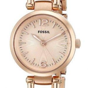 Fossil Georgia Mini Rose-Tone ES3268 Womens Watch