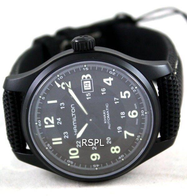Hamilton Khaki Aviation Titanium H70575733 Mens Watch