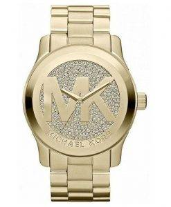 Michael Kors Runway Crystal Pave Dial MK5706 Womens Watch