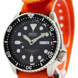 Seiko Automatic Diver's 200M NATO Strap SKX007J1-NATO7 Men's Watch