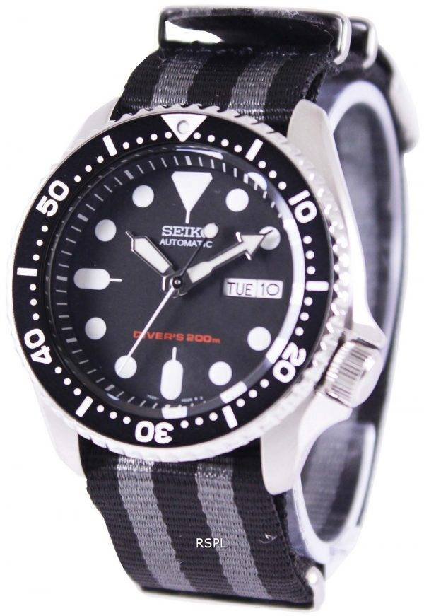 Seiko Automatic Divers 200M NATO Strap SKX007K1-NATO1 Mens Watch