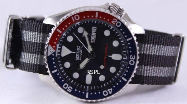 Seiko Automatic Divers 200M NATO Strap SKX009K1-NATO1 Mens Watch