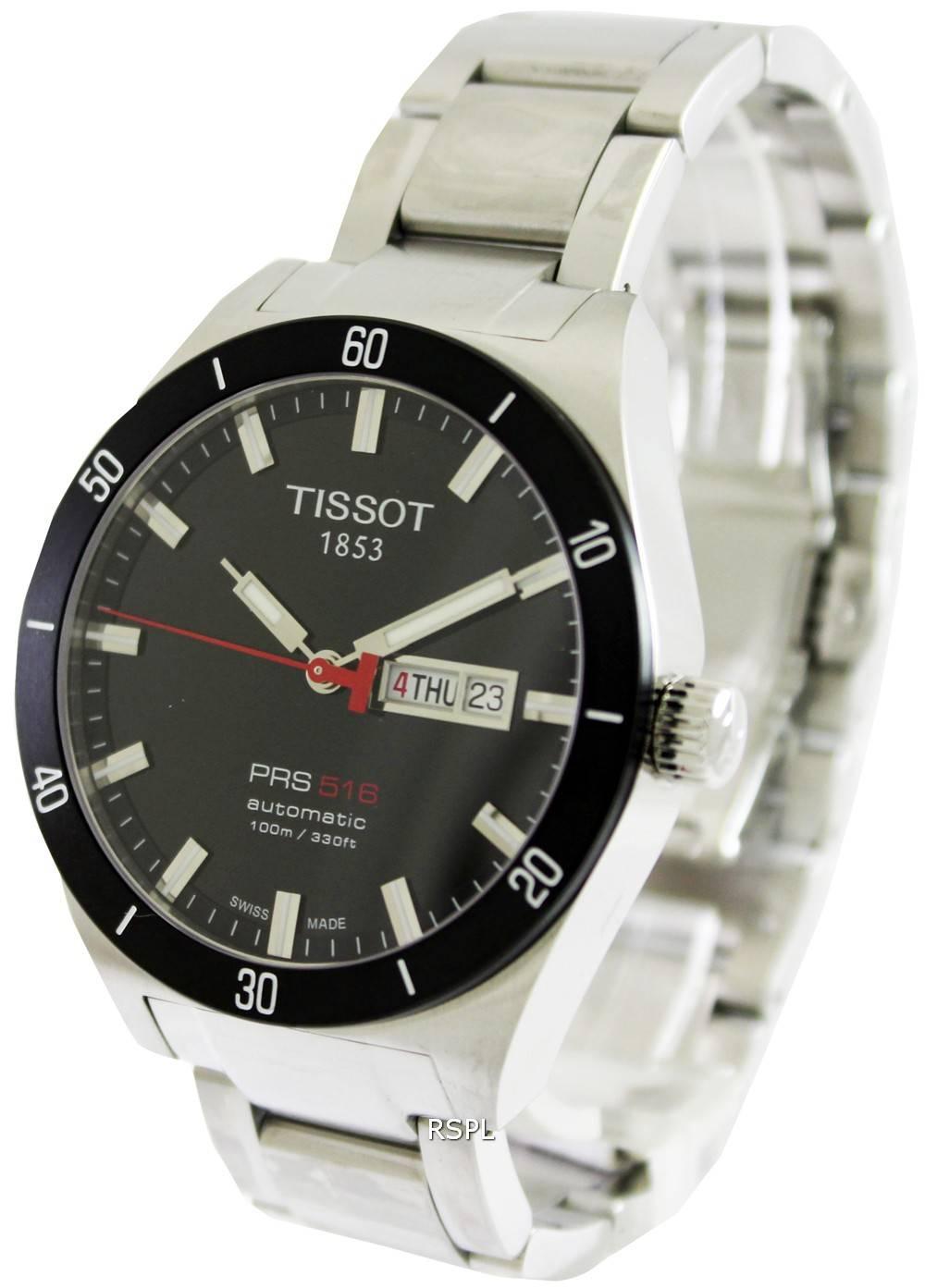 tissot t sport prs 516 automatic watch. Black Bedroom Furniture Sets. Home Design Ideas