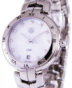 Tag Heuer Link Bracelet Diamond Dial WAT1315.BA0956 Womens Watch