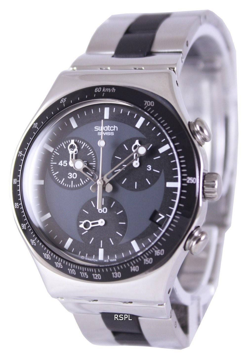 Swatch Irony Windfall Chronograph Swiss Quartz YCS410GX ...