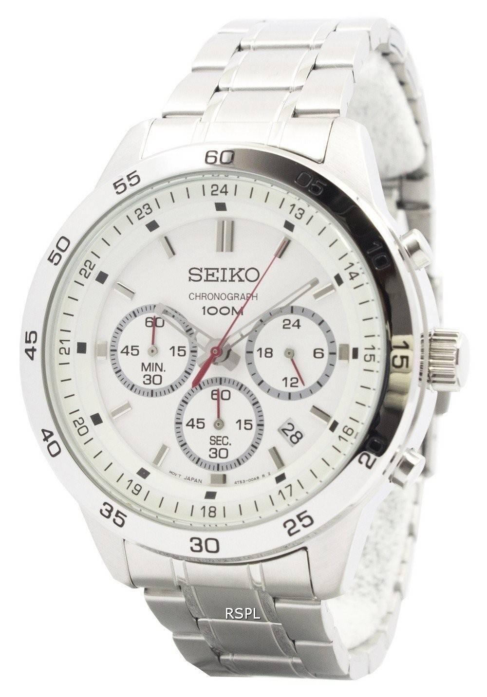 Seiko Chronograph Jam Tangan Strap Stainless Steel Silver Sks515p1 Sks521p1 Pria Pl15002js Source Neo Sports Sks515p Mens Watch