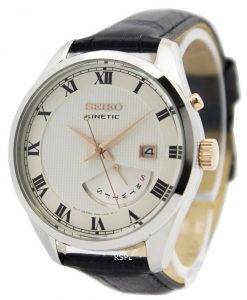 Seiko Kinetic Leather Strap SRN073P1 SRN073P Men's Watch