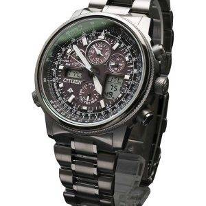 Citizen Promaster SKY Titanium Eco-Drive Atomic JY8025-59E Mens Watch