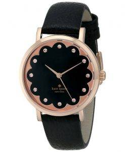 Kate Spade New York Scallop Metro Rose Gold Crystals 1YRU0583 Womens Watch