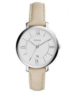 Fossil Jacqueline Quartz White Dial ES3793 Womens Watch