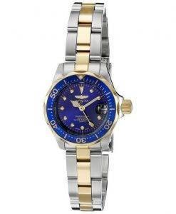 Invicta Pro Diver Quartz Two Tone Bracelet 200M 17035 Womens Watch