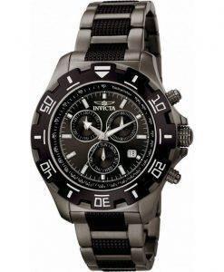 Invicta Specialty Quartz Chronograph Gunmetal 100M 6412 Mens Watch