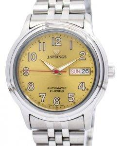 J.Springs by Seiko Automatic 21 Jewels Japan Made BEB536 Men's Watch