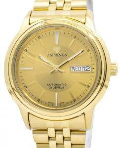 J.Springs by Seiko Automatic 21 Jewels Japan Made BEB541 Men's Watch