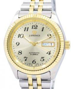 J.Springs by Seiko Automatic 21 Jewels Japan Made BEB556 Men's Watch