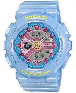 Casio Baby-G Analog Digital World Time BA-110CA-2A Womens Watch