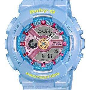 Casio Baby-G Analog Digital World Time BA-110CA-2A Womens Watch