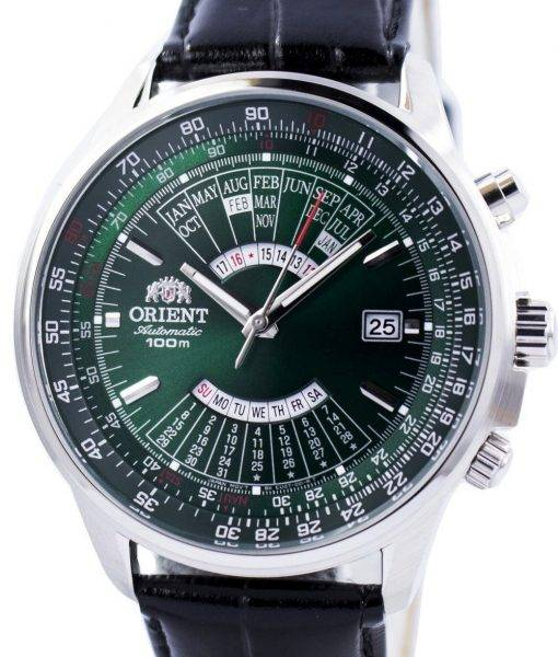 Orient Automatic Multi Year Calendar 100M FEU0700CFH Mens Watch