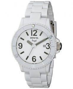 Invicta Angel White Plastic Swiss Quartz 1207 Womens Watch