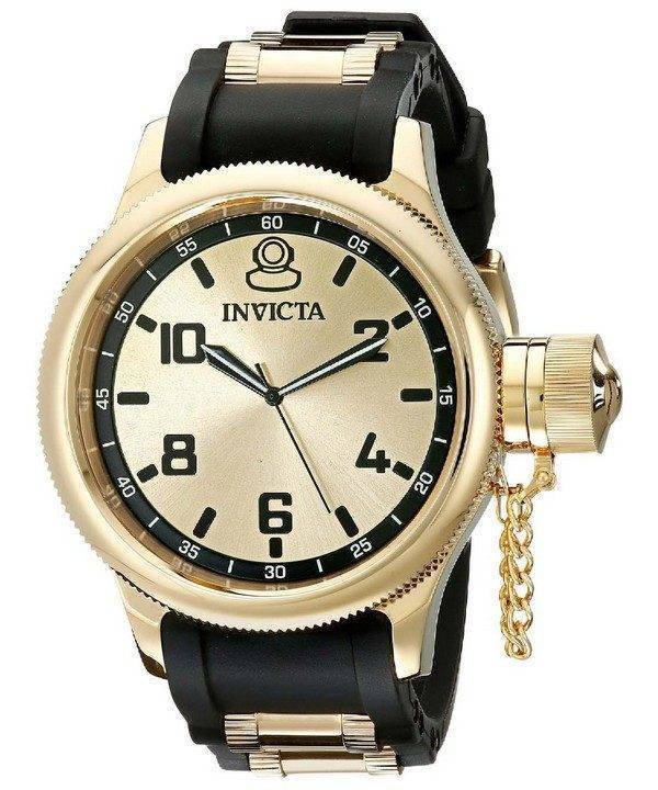 Invicta Russian Diver Swiss Quartz 1438 Mens Watch