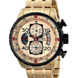 Invicta Aviator Chronograph Quartz 17205 Mens Watch
