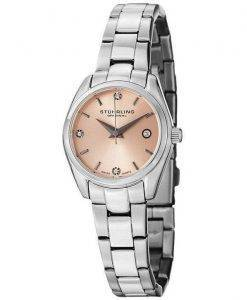 Stuhrling Original Ascot Prime Crystal Accented Swiss Quartz 414L.02 Womens Watch