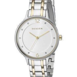 Skagen Anita Quartz Two Tone Crystals SKW2321 Women's Watch