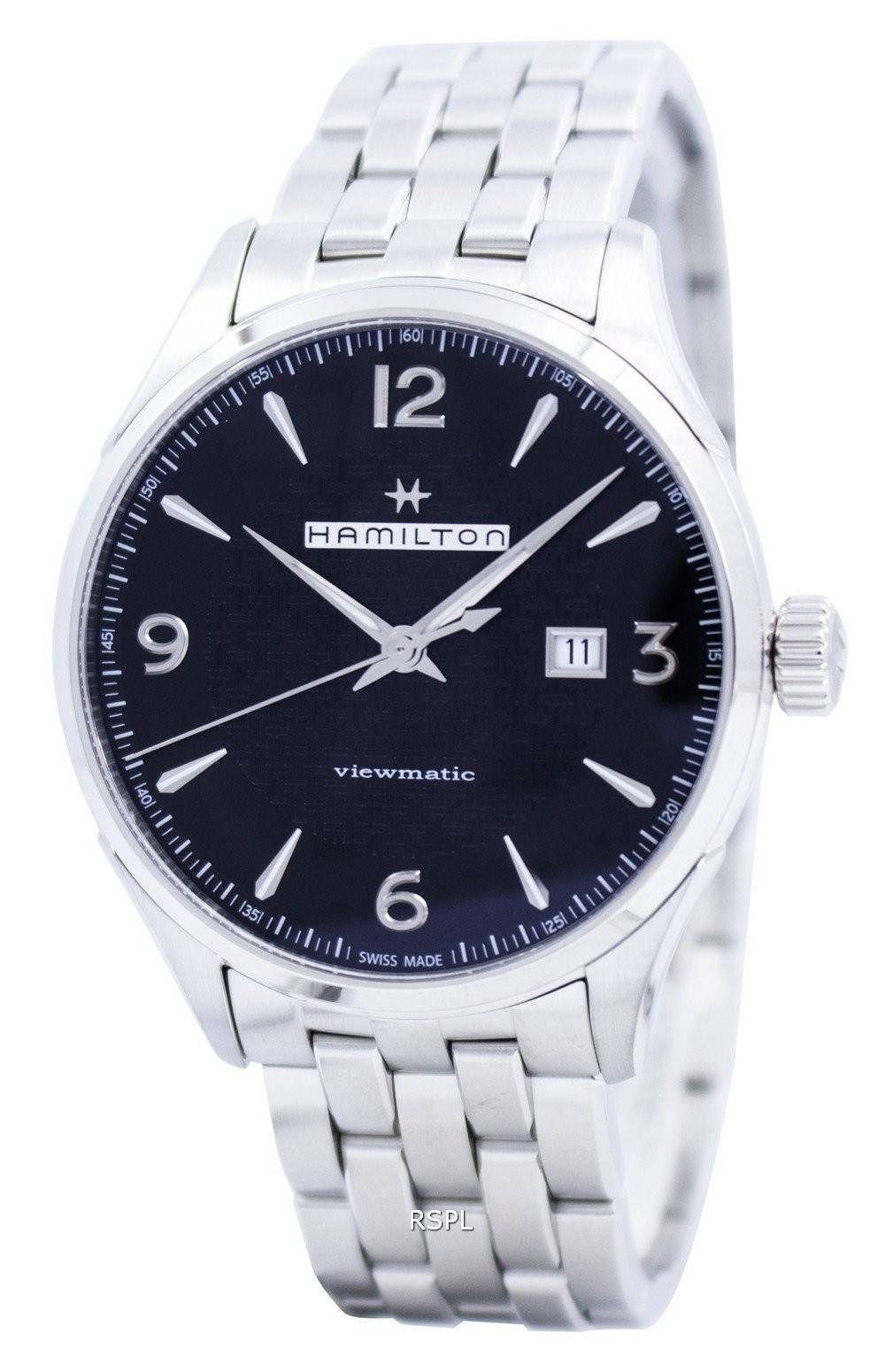 hamilton jazzmaster viewmatic automatic swiss made