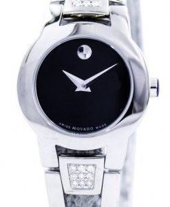 Movado Amorosa Swiss Made Quartz Diamonds 0604982 Womens Watch