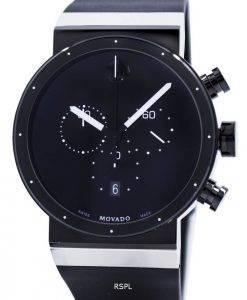 Movado Sapphire Synergy Chronograph Swiss Made Quartz 0606501 Mens Watch