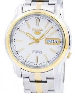 Seiko 5 Automatic 21 Jewels Japan Made SNKL84 SNKL84J1 SNKL84J Mens Watch