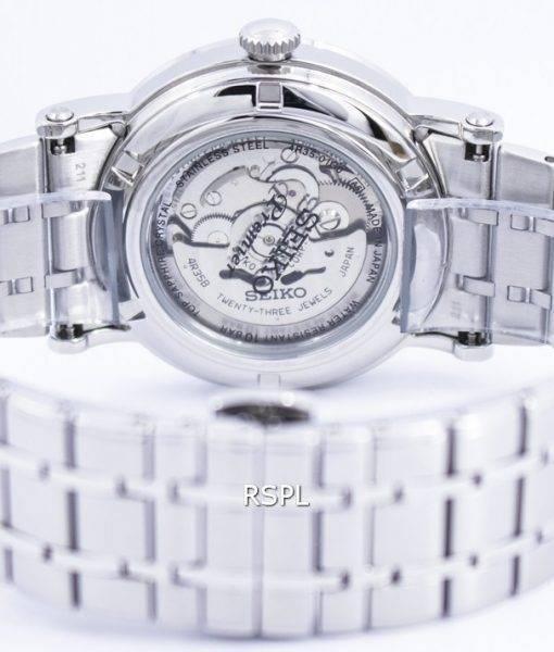 Seiko Premier Sapphire Automatic 23 Jewels Japan Made SRPA17 SRPA17J1 SRPA17J Mens Watch