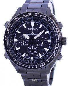 Seiko Prospex Sky Radio Sync Solar World Time Chronograph SSG003 SSG003P1 SSG003P Men's Watch