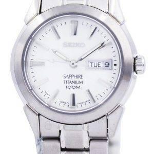Seiko Sapphire Titanium Quartz SXA111 SXA111P1 SXA111P Womens Watch