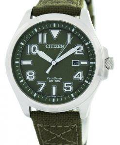 Citizen Eco-Drive Military 200M AW1410-32X Men's Watch